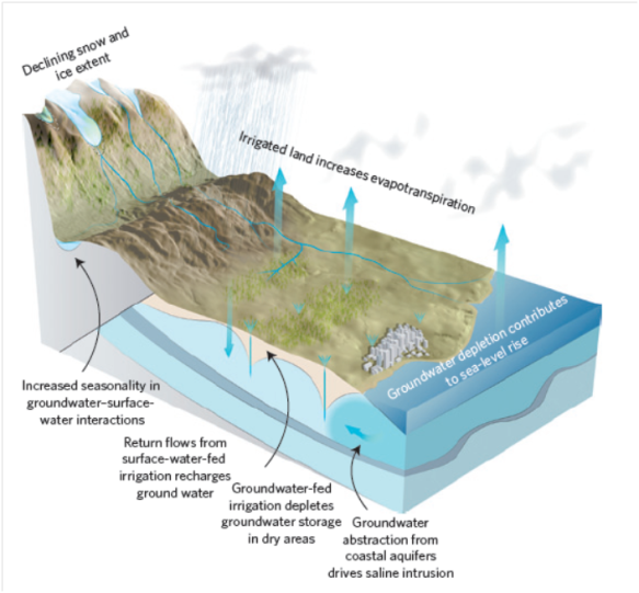 Groundwater water cycles (from paper)
