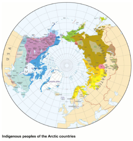 The map of the world angle you don't normally see – the Arctic (from paper)